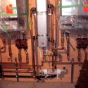 Installations: New boiler room for a 15000 sq. ft. residence