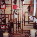 Upgrades: In limited space, boiler piping install accommodates access for future service