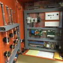 Before and After: Re-piping & re-wiring a gas-fired Viessmann Vitola and wood boiler system